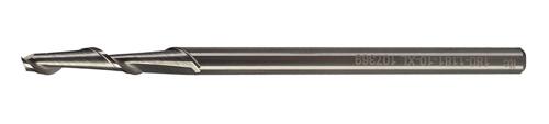 Серия: 180-10 XL. Однозаходная твердосплавная фреза c удлиненной режущей частью для раскроя алюминия и пластика